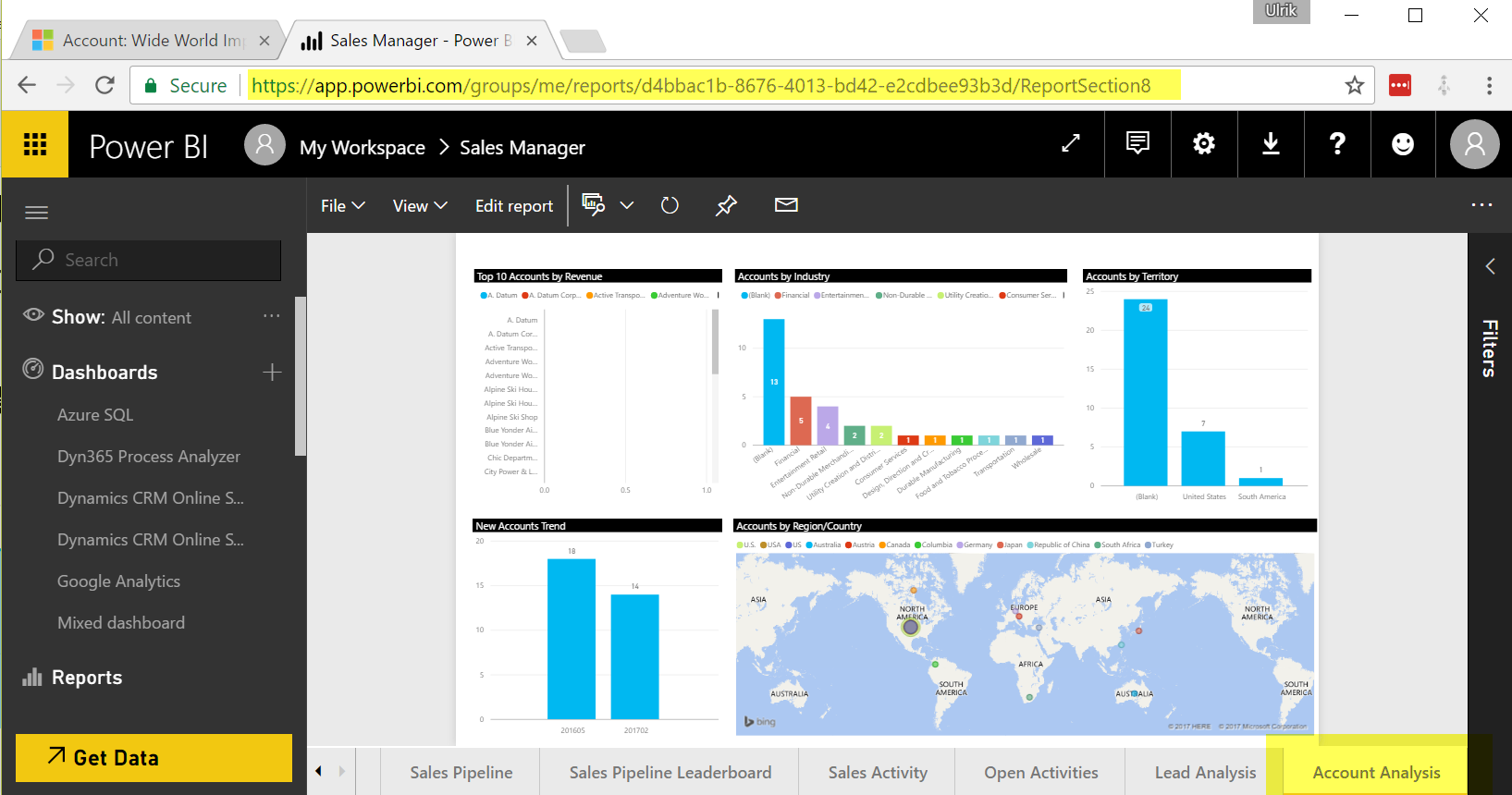 Record Specific Power BI Reports in Dynamics 365 (only one