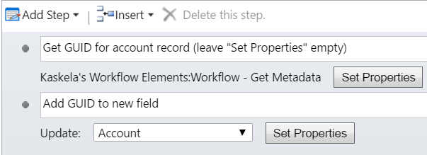 Worfkflow to help generate URL for filtered Power BI report to use in Dynamics 365